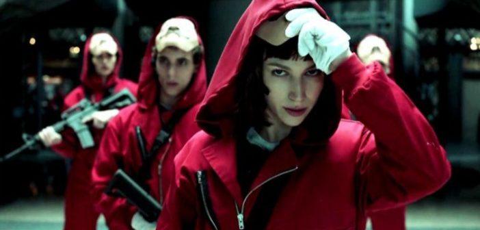 LA CASA DE PAPEL :: Netflix anuncia que irá produzir terceira parte da série