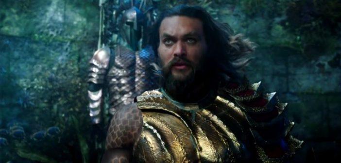 AQUAMAN :: Primeiro trailer é rico em efeitos visuais. Vem conferir!