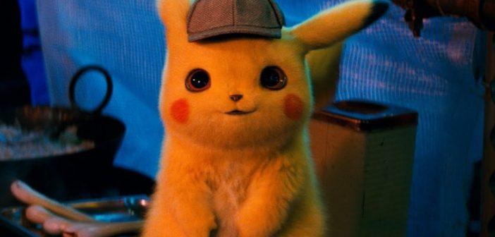 DETETIVE PIKACHU :: Pikachu peludinho e falante aparece em primeiro trailer de live action