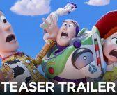 TOY STORY 4 :: Woody, Buzz, Jessie e toda a turma se divertem em primeiro teaser