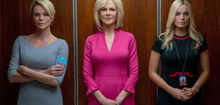 O ESCÂNDALO :: Charlize Theron, Nicole Kidman e Margot Robbie denunciam assédio em primeiro teaser