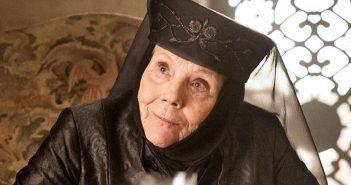 LUTO :: Diana Rigg, Olenna Tyrell de Game Of Thrones, morre aos 82 anos